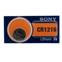 Sony Lithium Watch Batteries / Coin Cells - CR1216